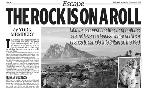 Gibraltar – Daily Mail