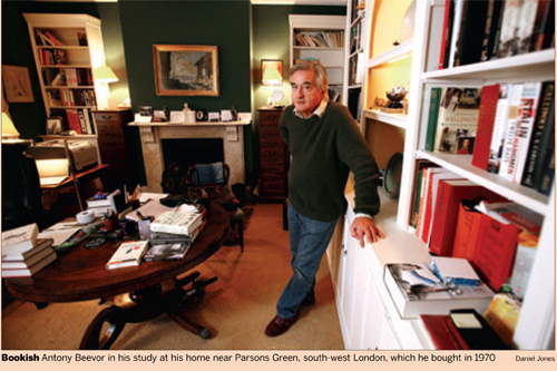ANTONY BEEVOR – IN THE WAR ROOM, FT
