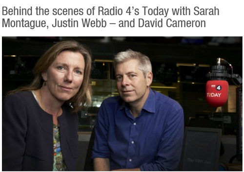 BEHIND THE SCENES ON R4 TODAY – HIGH 50