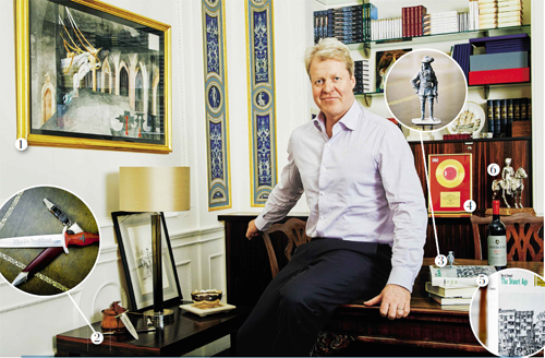 My Haven – Earl Spencer, DAILY MAIL WEEKEND